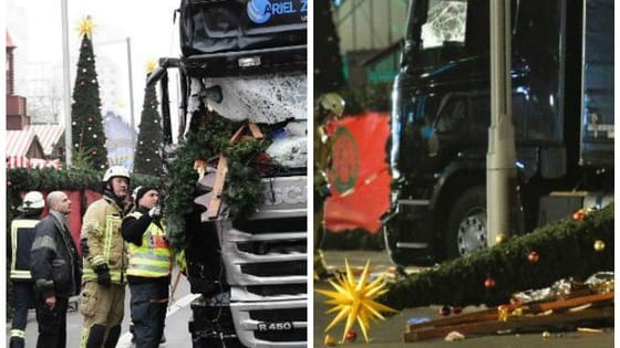 On Monday evening, December 19, 2016, a truck plowed through a German Christmas market in Berlin, killing 12 people and injuring 48. The event is currently being called a terrorist attack, and while police have one suspect in custody, they are still searching for others as uncertainty hangs in the air.