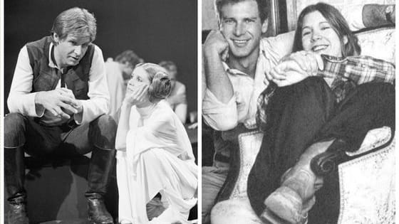The two Star Wars leads have long been linked in the minds of fans, but forty years later, Carrie Fisher has finally opened up about the real-life affair she had with Harrison Ford while filming the original movie. Are you surprised?