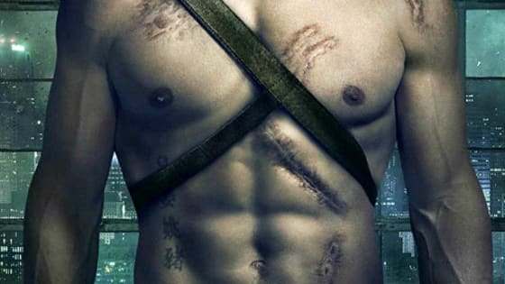 Can you identify the CW actor by his abs?