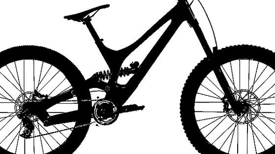 We've applied a silhouette to some of downhill mountain bike racing's most well known bikes. Can you work out which one is which?