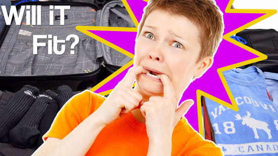 60 Items, 1 small suitcase. Will it Fit? Let's find out! Take The #WillItFit Suitcase Challenge for yourself and share your results with us!
