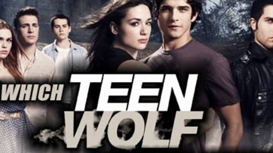 Find out what Teen Wolf character you are!