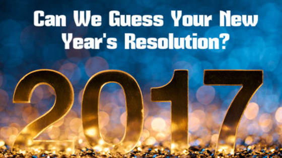Take this quiz and see if we can determine your New Year's resolution in just 10 questions!