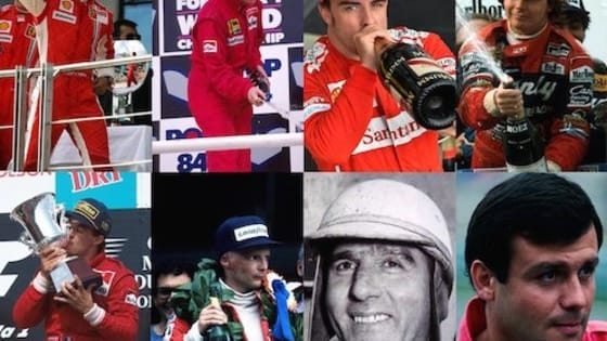 Which of these drivers took more F1 wins for the Scuderia?