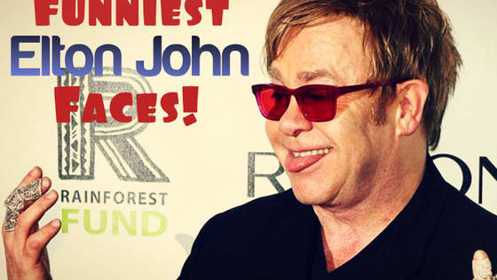 Elton John is actually a lot funnier than you'd think!