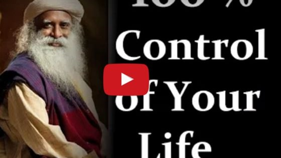 Can we control 100% of our lives? Sadhguru explains what is 100% under your control, and how to manifest that. For those in Florida who want to learn how to do this, come check out the top yoga retreats in Florida here: https://bookretreats.com/s/yoga-retreats/florida. They're affordable, accessible, and available for 2016 and 2017.