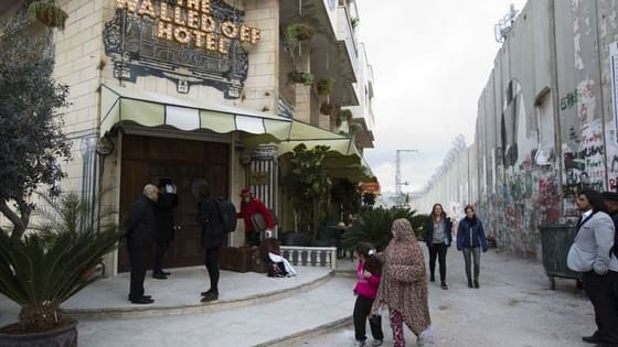 "Inside Bethlehem's ""Walled Off Hotel"""