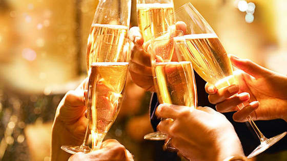 Some bubbly Champagne, Prosecco, or sparkling white wine is sure to make any New Year's Eve party complete. Start your 2017 off right!