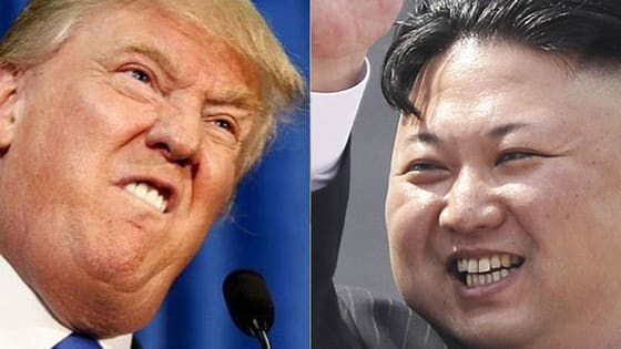 Who uttered these quotes: America's President or North Korea's Supreme Leader?