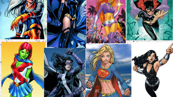 Are you Batgirl with a photographic memory? Are you Wondergirl with an great fighting skill? Are you Supergirl with amazing strength? Or are you one of the other 5 teen female superheros? Find out HERE!