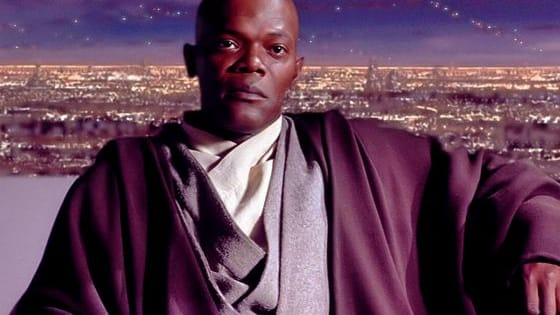 Mace Windu has been hiding out in crowded places. Can you spot the Jedi Master hiding among the people in each of these photos?