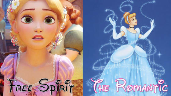 Each Disney Princess has a classic personality type, but which is most like you?