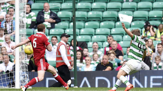 Aberdeen FC's 12 year wait for a league point at Parkhead continued as they lost 4-1 to Celtic.
