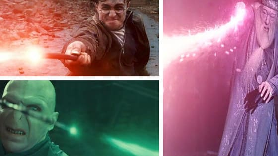Harry's was Red, Voldemort's Green... but yours?