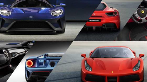 Ford vs. Ferrari, GT or 488 GTB, which ultra-exotic supercar do YOU prefer?