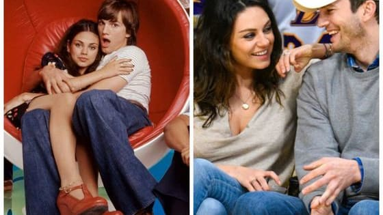 They met on the set of that 70s show, almost twenty years ago, and now they have two kids. See some of their most adorable moments together here!