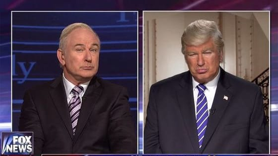Baldwin appeared as both Donald Trump AND Bill O'Reilly on this weeks SNL; was his impression of the President disrespectful?
