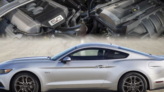 Would you rather drive a Ford Mustang with a traditional V8 engine or the new EcoBoost turbo four?