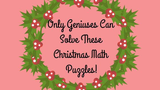 It's the most wonderful time of the year: time for a pop math quiz. Test your festive problem-solving skills here!