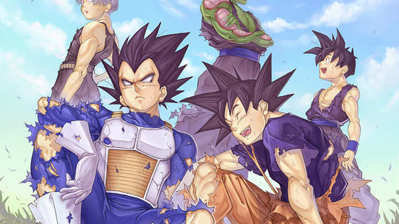 Among the men of DBZ whom are you most like?