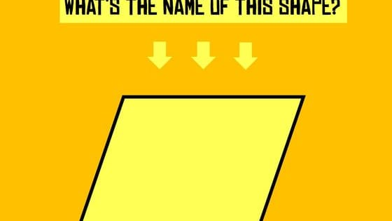 How many shapes do you remember?