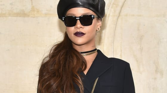 Rihanna pays homage to Queen Elizabeth on her birthday with fab photoshopped sesh.