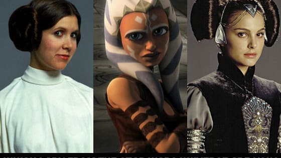 We can't even begin to talk about how excited we are for Star Wars Episode VII! Take the quiz and find out which Star Wars leading lady you are!