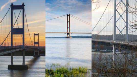 The Severn Bridge opened on September 8, 1966. Can you spot it - and Britain's other famous bridges old and new - among our gallery?