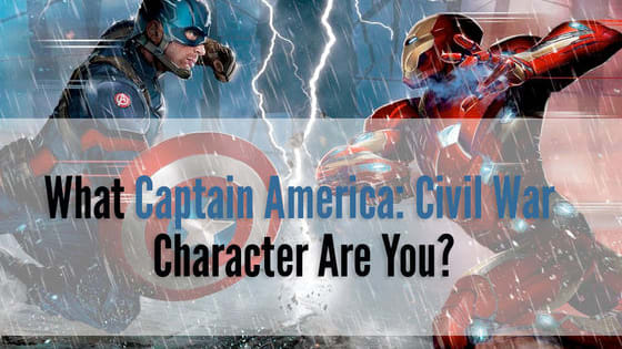 Take our quiz to find out what character from Captain America: Civil War you are!