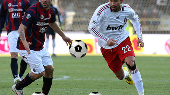 Can you discover where the real ball is hiding? Give it a shot through these 10 photos of Bologna v AC Milan matches from the past!