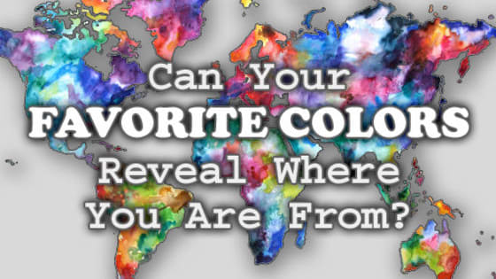 Let us determine what country you are from based on the colors you choose!