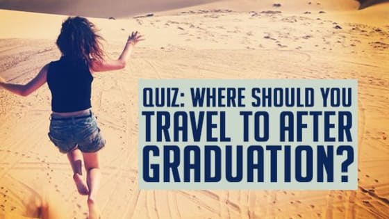 You've spent the past few years almost solely focusing on coming out of university with a worthy degree and you can finally stop worrying as you've just graduated! But what happens next? Take our quiz and figure out where you should be heading now that you're no longer tied down by university...