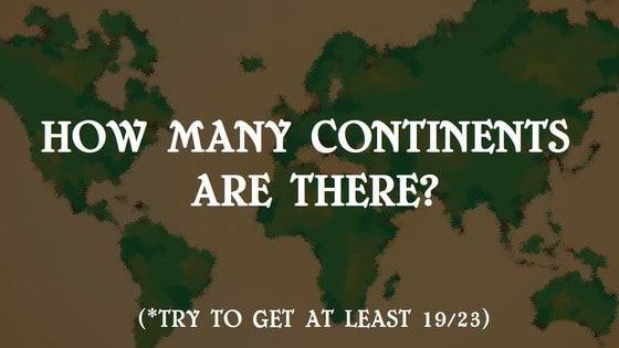 Time to test your geography skills!!