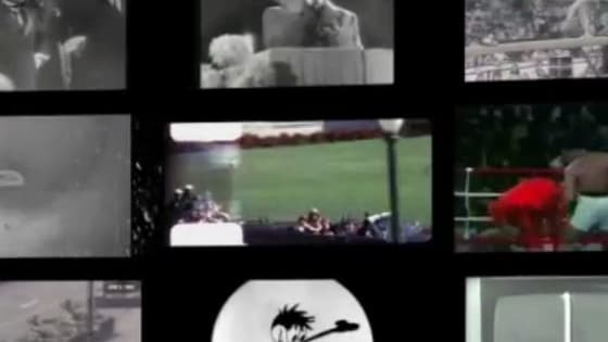 100 years of historical footages manipulated in the music video The Savior