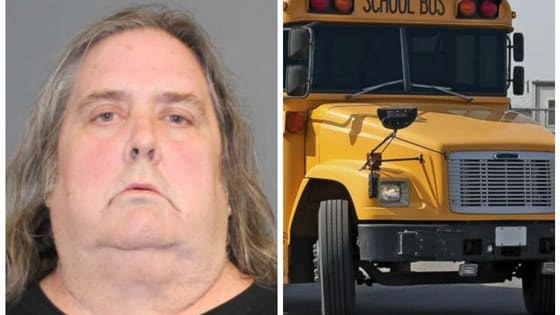 While no one was harmed, several people reported Paul Pixley to police, saying he was falling asleep at the wheel and swerving all over the road. Pixley is now in prison, charged with 30 counts of risk of injury to a minor. Do you think he should face steeper charges?
