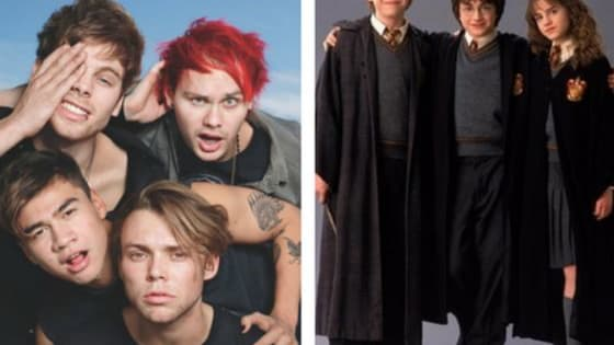 Your fave 5SOS lad will reveal which HP character you are. It's like magic!