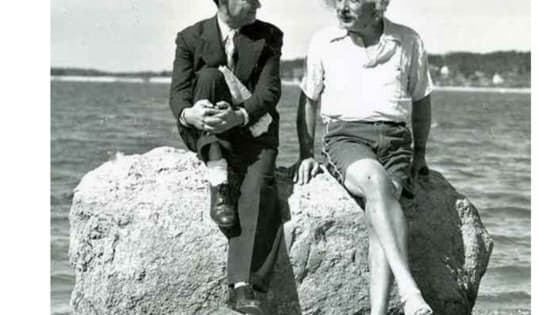 Einstein at Nassau Point, Long Island, New York in the summer of 1939.  If you think you know your history, get ready to be humbled. The rare photographs below show a different perspective of historical events, and you probably wouldn't find them in any school textbook. http://www.iplaybuzz.com