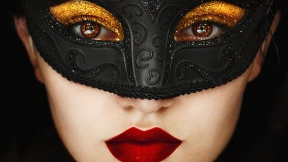 Does your mask reveal or conceal who you are? And what are the different and opposing aspects of your personality?