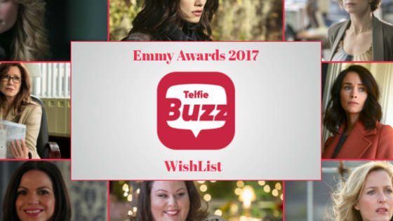Telfie Buzz wants to show some Emmy love to deserving actresses! We chose Lana Parrilla, Carrie Coon, Abigail Spencer, Phoebe Tonkin, Gillian Anderson, Mary McDonnell, Chrissy Metz and Jennifer Morrison for our WishList for Outstanding Lead Actress in a Drama or Comedy.