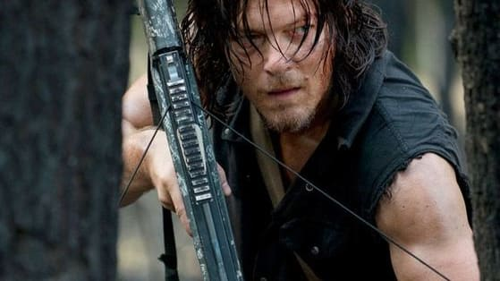 Daryl's business is killin' walkers and business is good.