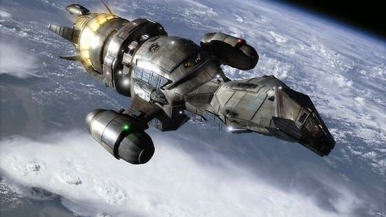 Test your sci-fi knowledge by matching up these spaceships to their proper names…