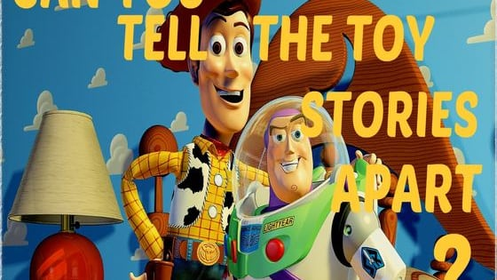 With so many toys and so much time between releases, can you tell which of the Toy Story movies each of these scenes are from? Is it Toy Story, Toy Story 2, or Toy Story 3?!