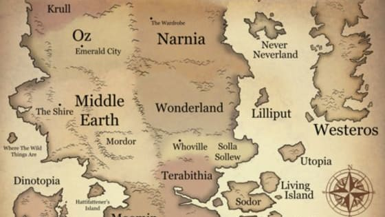 Take this quiz and find out which fictional world you should visit if you ever get the chance!