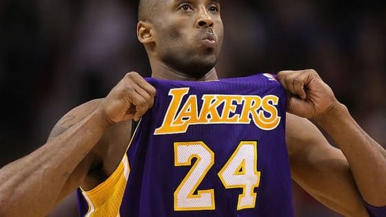 The Lakers just retired both his numbers