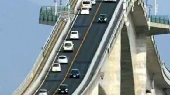 I was shocked to learn how many people believe it's scary driving over the Herbert C. Bonner Bridge..  I personally find it one of the most picturesque bits of driving in the country, so I invite you to feast your eyes on truly terrifying feats of human engineering!
