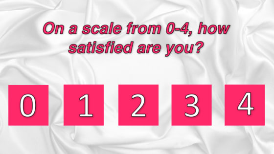 Your happiness level can be quantified based on the number of sex partners you've had. Find out where you land on the happiness scale here!