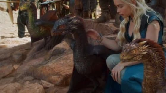 Tell us which colors stand out most to you in these gorgeous stills from Game of Thrones and we'll tell you whether you're Drogon, Rhaegal, or Viserion!