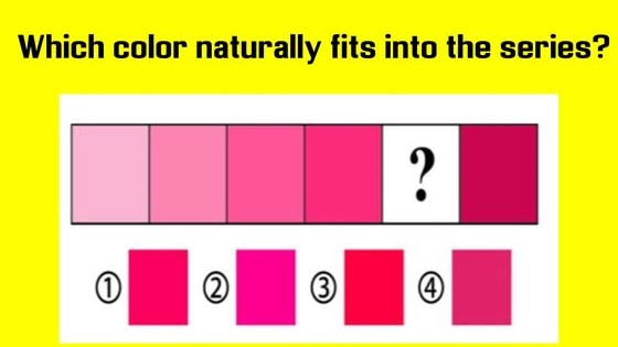 You could be in possession of a very rare talent. Take this test to find out! Less than 3% of humans can pass this tricky color test