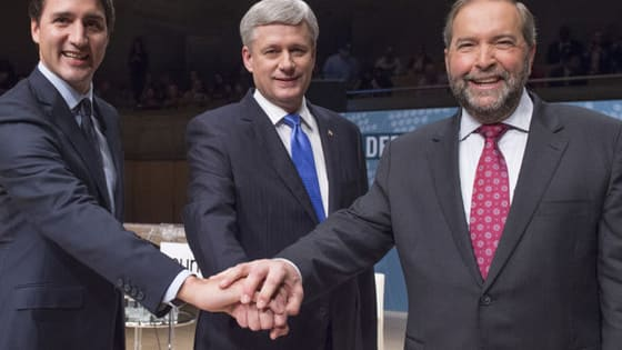 During last night's foreign policy Munk debate, the hawkish PM Stephen Harper went head-to-head against his more dovish opponents Mulcair and Trudeau who portrayed him as a leader that is taking Canada astray from its core values. What do you think? Who would you vote for?