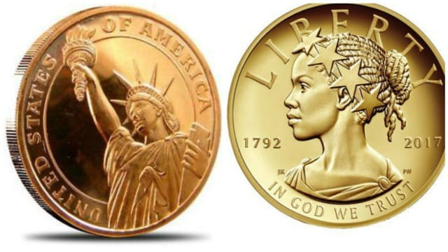 Upcoming representations of Lady Liberty on currency will supposedly seek to even further represent people of color in America. What do you think of this design?